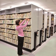 Picture of Mobile Shelving - Manually Or Electrically Powered