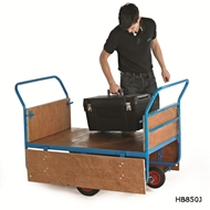 Picture of Plywood Decked Balanced Trucks