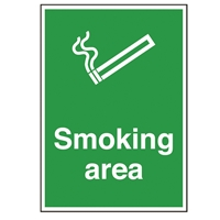 Picture of Smoking Area Sign