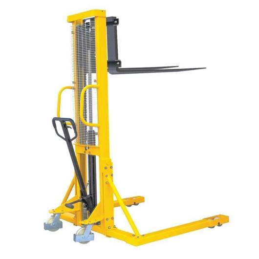 Picture of Hydraulic Stackers with Straddle Fork