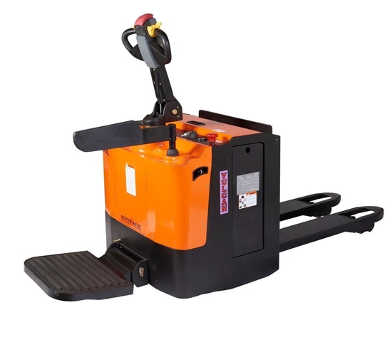Picture of Driver Platform & Side Protection Bars for VULCAN Premium Fully Powered Pallet Truck