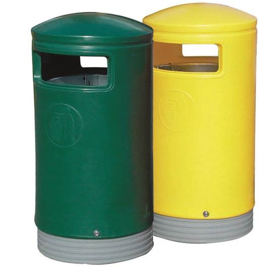 Picture of Hooded Top Litter Bins
