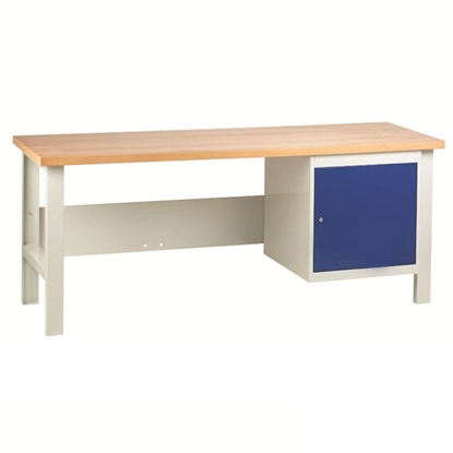 Picture of Heavy Duty Workbenches with a Cupboard Unit