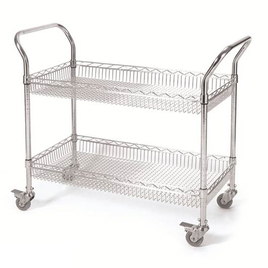 Picture of 2 & 3 Tier Basket Trolleys