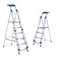 Picture of Professional Aluminium Folding Steps with Tool Tray