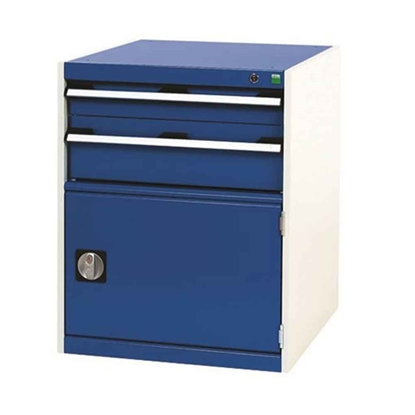 Picture of Drawer Cabinet with 2 Drawers & Cupboard