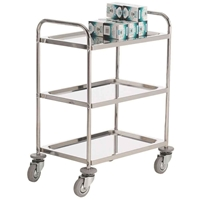 Picture of Stainless Steel Shelf Trolleys