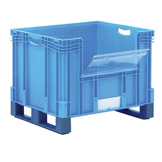 Picture of XL Containers with Fork Entry Shoes