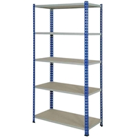 Picture of J Rivet Shelving with Chipboard Shelves