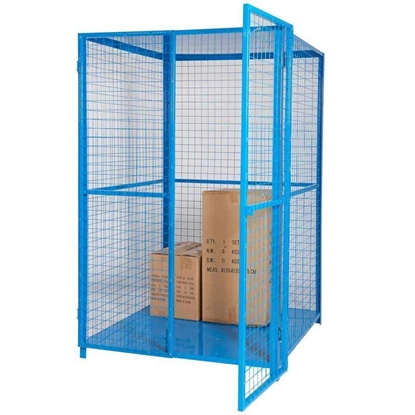 Picture of Security Cage with Roof & Base