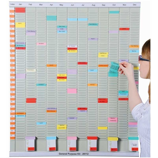 Picture of General Purpose Yearly Schedule Display Board