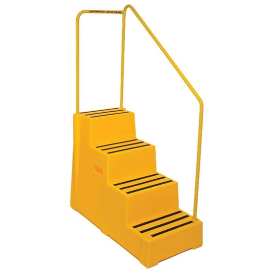 Picture of Plastic Handy Step with Handrail