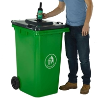 Picture of Wheeled Bins with Bottle Hole Lid