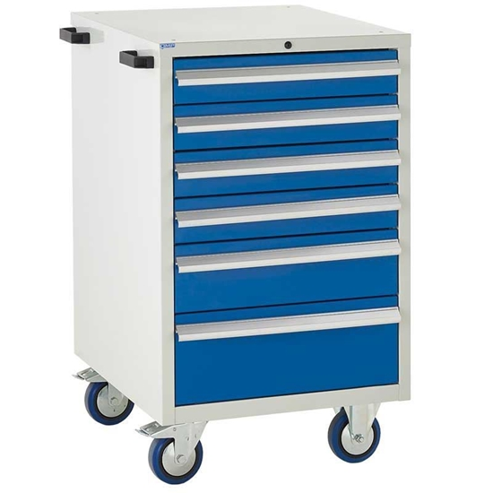 Picture of Mobile Euroslide 6 Drawer Cabinet