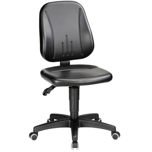 Picture of Industrial Operator Faux Leather Chairs