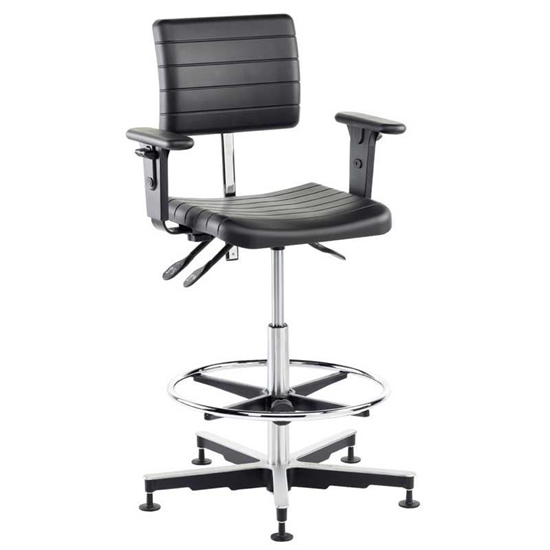 Picture of Industrial Draughting Polyurethane  Chairs