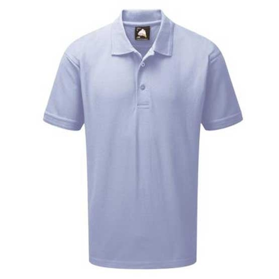 Picture of Mens Sky Blue Polo Shirt