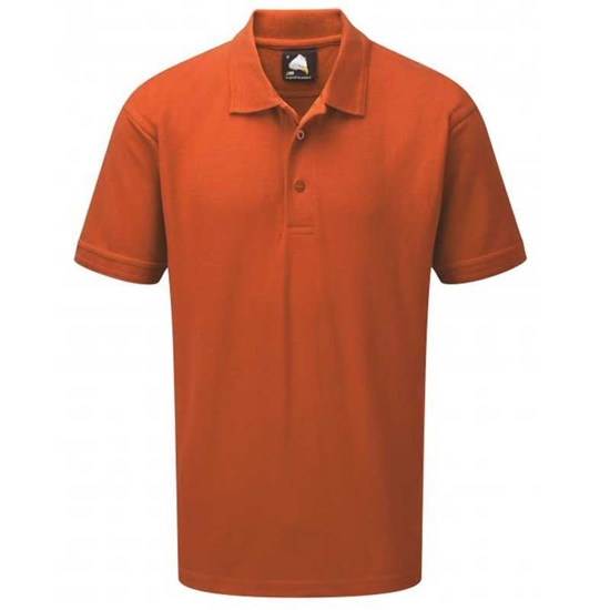 Picture of Mens Orange Polo Shirt