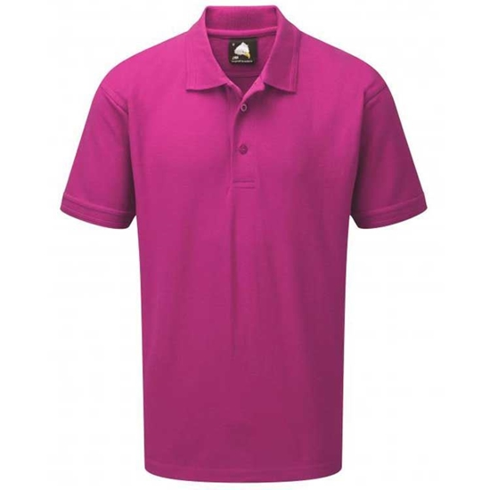 Picture of Mens Pink Polo Shirt