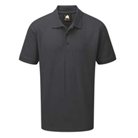 Picture of Mens Charcoal Polo Shirt