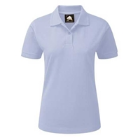 Picture of Womens Sky Blue Polo Shirt