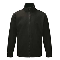Picture of Mens Black Fleece Jacket