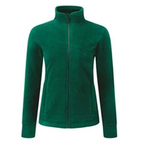 Picture of Womens Bottle Green Fleece Jacket