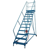 Picture of Fort Wide Tread Spartan Mobile Steps with 48° Incline